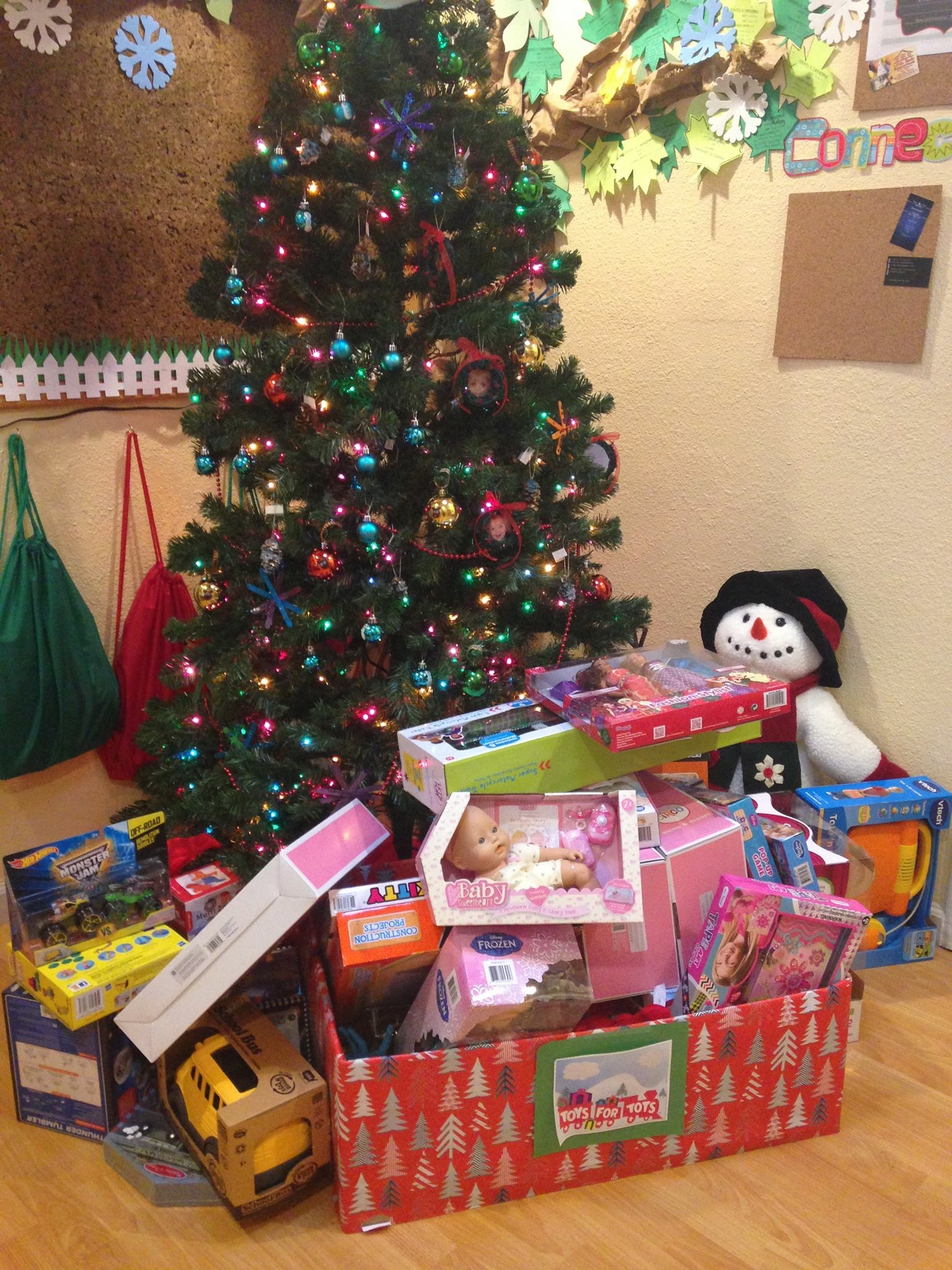 Toys For Tots Raffle : Fundraiser at the livermore learning tree importance